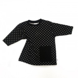 Dots Oversized Pocket Dress