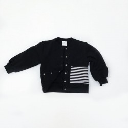 Stripes Pocket Bomber Jacket